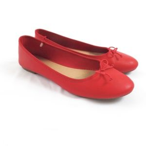 Old Navy Red Ballet Flats 10